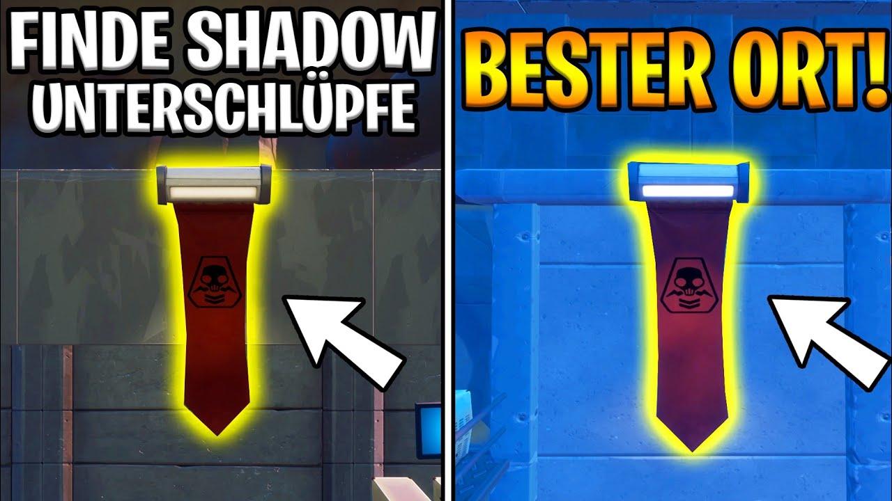 Finde Shadow Unterschlüpfe