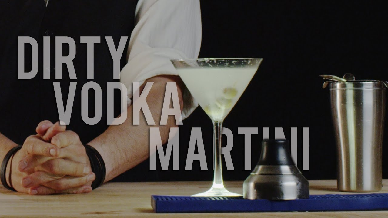 How to make the dirty vodka martini best drink recipes youtube its youtube uninterrupted sisterspd
