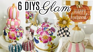 "6 Diy Dollar Tree Glam Chic Fall Decor Crafts 🍁""i Love Fall"" Ep 5 Olivia's Romantic Home Diy"