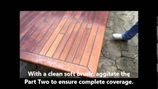 The Easiest, Fastest And Best Way To Clean Teak Decking And Furniture