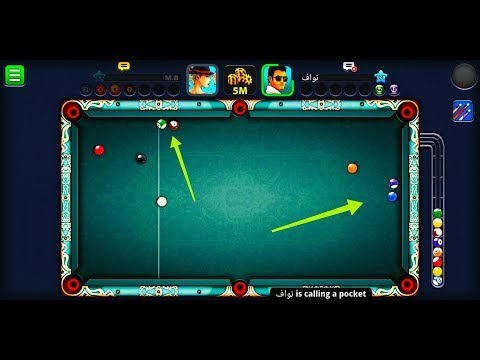 How to win in 8ball pool from this situation