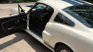 1966 GT350 Shelby Mustang Driver Report and Walk Around