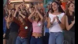 Gretchen no programa da Xuxa