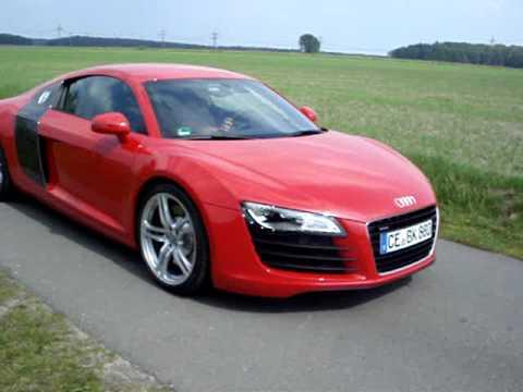 Audi R8  red  carbon 42 quattro  YouTube