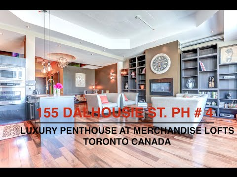 155 Dalhousie St PH #4. Toronto Canada | Historical Penthouse Loft For Sale | Karen Law