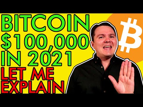 BITCOIN GOING TO $100,000 IN 2021, BUY NOW BEFORE IT'S TOO LATE! Price Prediction [Here's Why!]