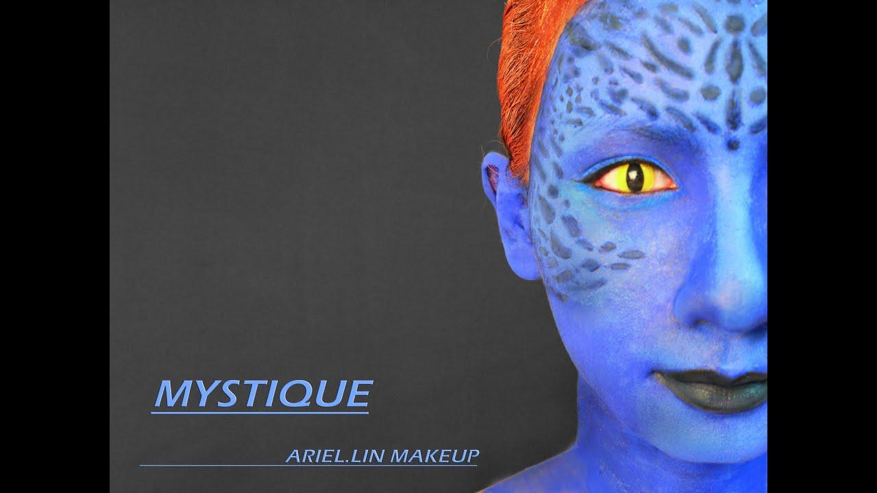 X-戰警之【魔形女】仿妝~X-Man MYSTIQUE Make-up Tutorial | Doovi