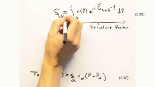 Solid State Physics in a Nutshell: Topic 3-4: Structure Factor