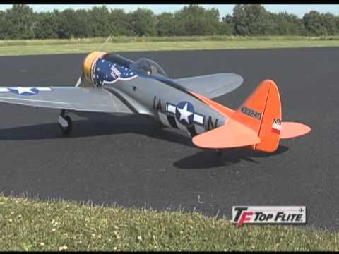 P-47D Thunderbolt Giang 2,2m Fertigmodell Von Top Flite: 9709375
