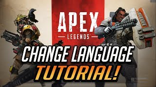 How to change language on Apex Legends on [XBOX ONE ONLY