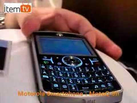 [CES2008]Motorola Moto Q 9h