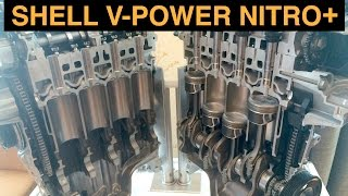 shell v power nitro premium gasoline fuel testing