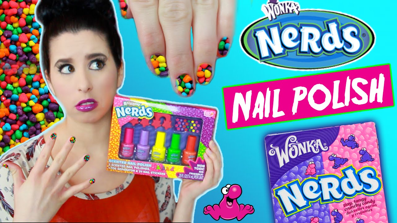 Nerds Candy Scented Nail Polish! | Tutorial | Smell Test | Willy ...