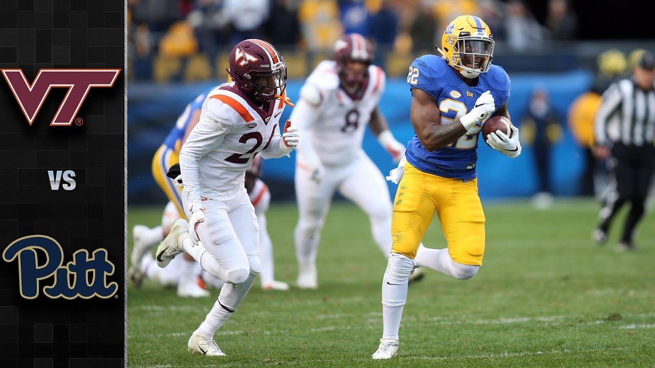 Virginia Tech Vs Pittsburgh Football Highlights 2018