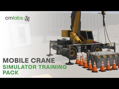 Valósághű daru szimulátorokon tanulnak a daruvezetők