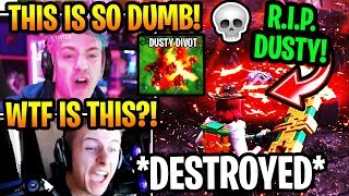 "Streamers React to ""DUSTY DEPOT"" Getting *DESTROYED* AGAIN by METEOR in Fortnite Season 10 (EVENT)"