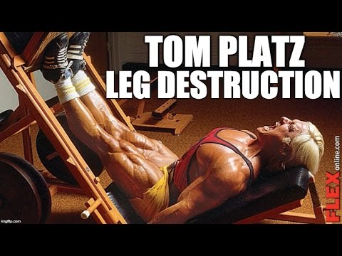 Tom Platz High Volume Leg Destruction Workout | Celebrity Fitness Workout  Ep 4