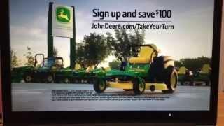 John Deere z435 EZtrak Commercial