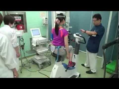 自転車の 運動 自転車 : ... による運動負荷試験 - YouTube