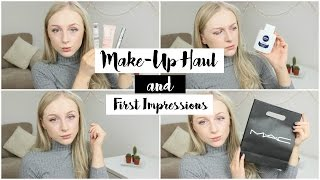 Make Up Haul & First Impressions | Emily Rose