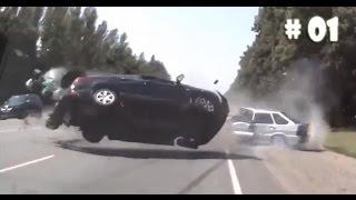 Acidentes Incríveis de Carros || Compilação # 01 || Sem Noçao Ltda thumbnail