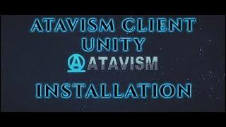 Atavism Online - Atavism Client 2018.2.0 Installation (Unity 2018.2)