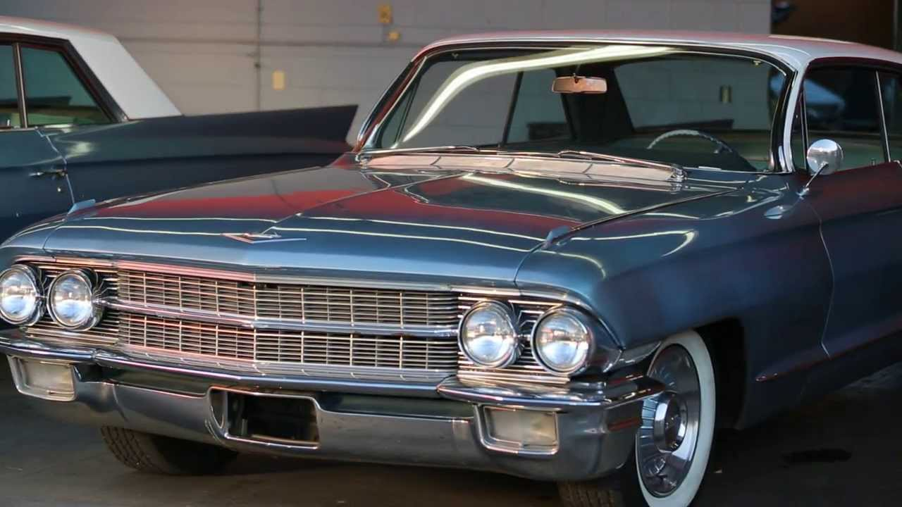 Don Dr Of Mad Men's Cadillac | Car Chasers - YouTube