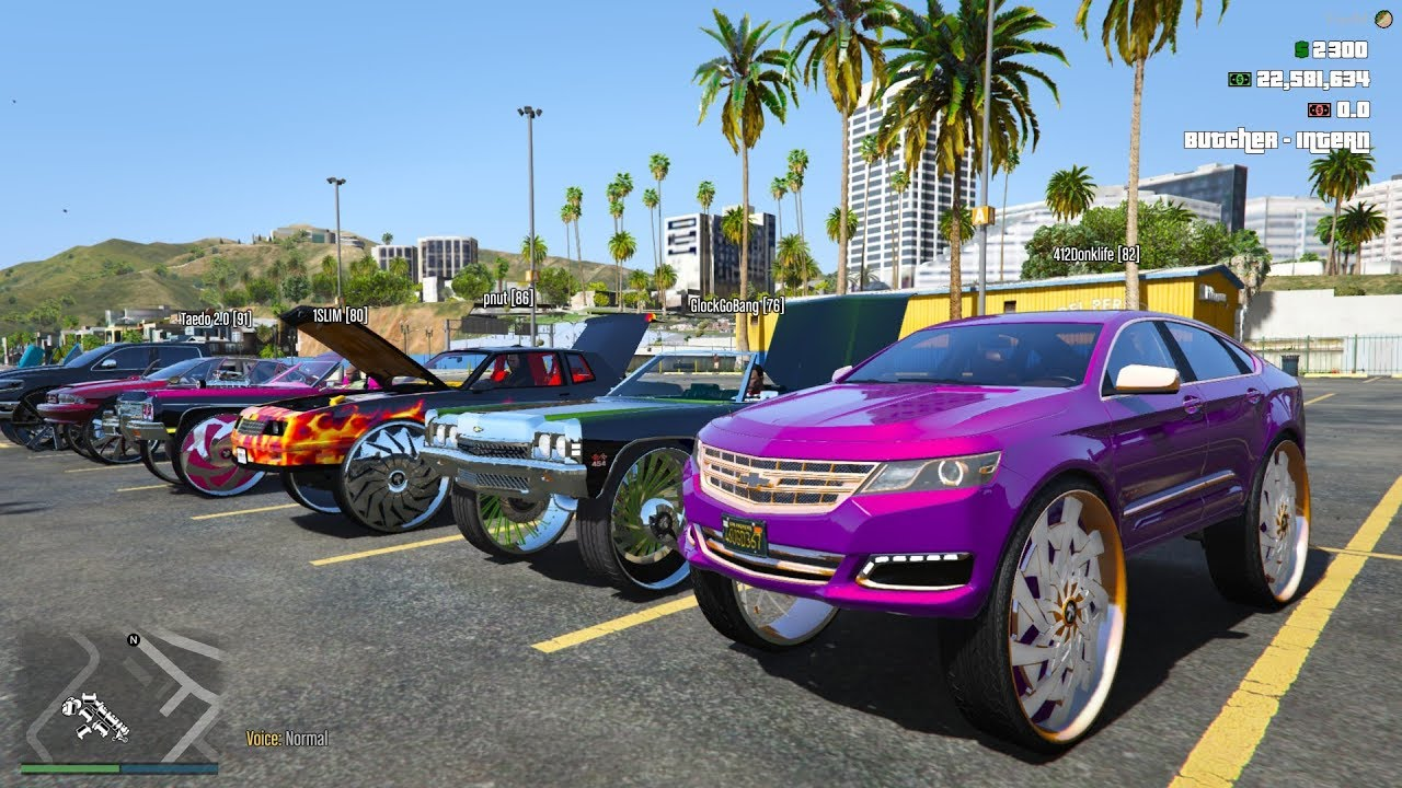 GTA V - DONK RIDEOUT .......LIL ANNOUNCEMENT