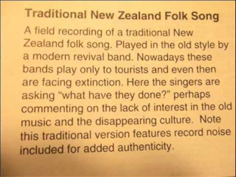 Traditional New Zealand Folk Song