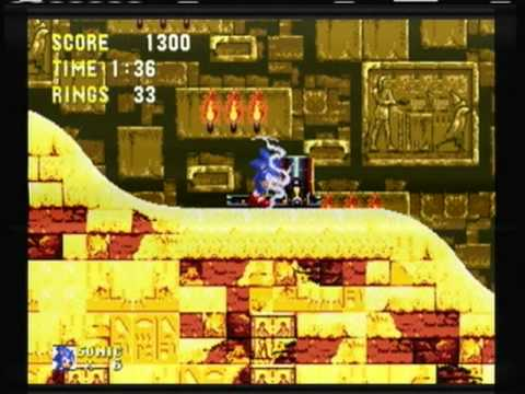 Sonic And Knuckles Sandopolis Zone Special Ring Locations