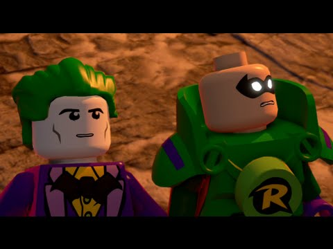 LEGO Batman 3: Beyond Gotham (Vita / 3DS) Walkthrough Chapter 12 - Ysmault