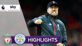 90.+5! Liverpool gewinnt dramatisch | FC Liverpool - Leicester City 2:1 | Highlights Premier League