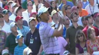 Tiger Woods Curses at The Masters 2010