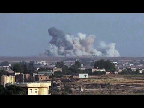 Турецкая армия начала военную операцию в Сирии.
