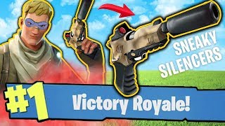 THE ULTIMATE SNEAKY GUN!! - FORTNITE BATTLE ROYALE!! #15