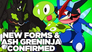 NEW ZYGARDE FORM CONFIRMED! - DETAILS ON NEW ZYGARDE FORMS AND ASH GRENINJA FROM POKEMON!