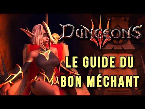 DUNGEONS 3 : devenir un bon méchant dans la lignée de DUNGEON KEEPER
