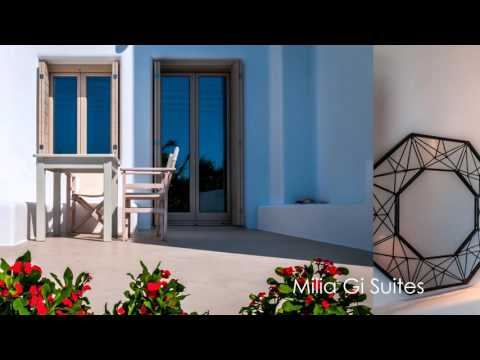 Milia Gi Suites in Milos island, Greece