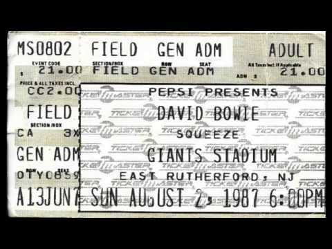 Squeeze - Giants Stadium - August 2, 1987