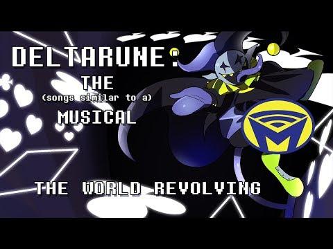 Deltarune the (not) Musical - JEVIL - THE WORLD REVOLVING (EPILEPSY WARNING)