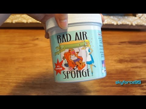Bad Air Sponge Air Odor Absorbent Review - YouTube