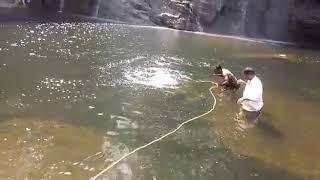 Water in searching dead body video
