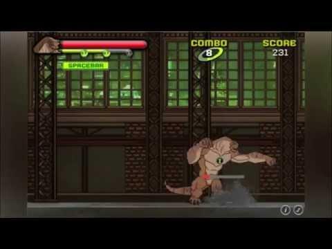 Игра Бен Тен инопланетная Битва Ben 10 Swarm Smash game