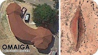 Las 10 Imagenes Mas Raras Encontradas En Google Maps Free HD Video
