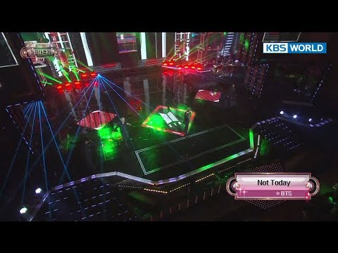 BTS (방탄소년단) - Not Today  [2017 KBS Song Festival | 2017 KBS가요대축제/2017.12.29]