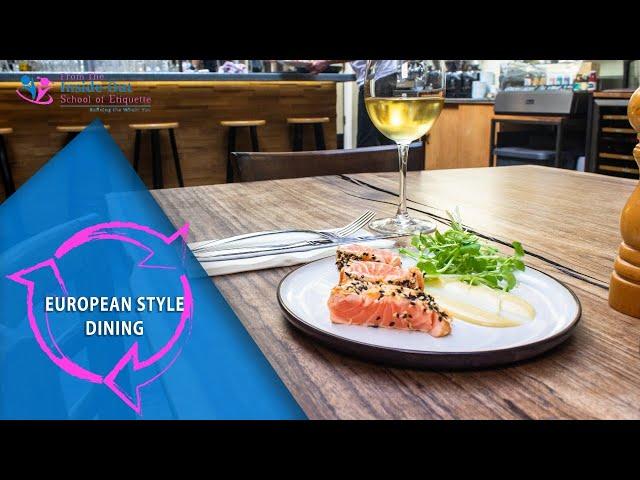 European style dining European