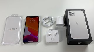 iPhone 11 Pro Max Unboxing: Silver!