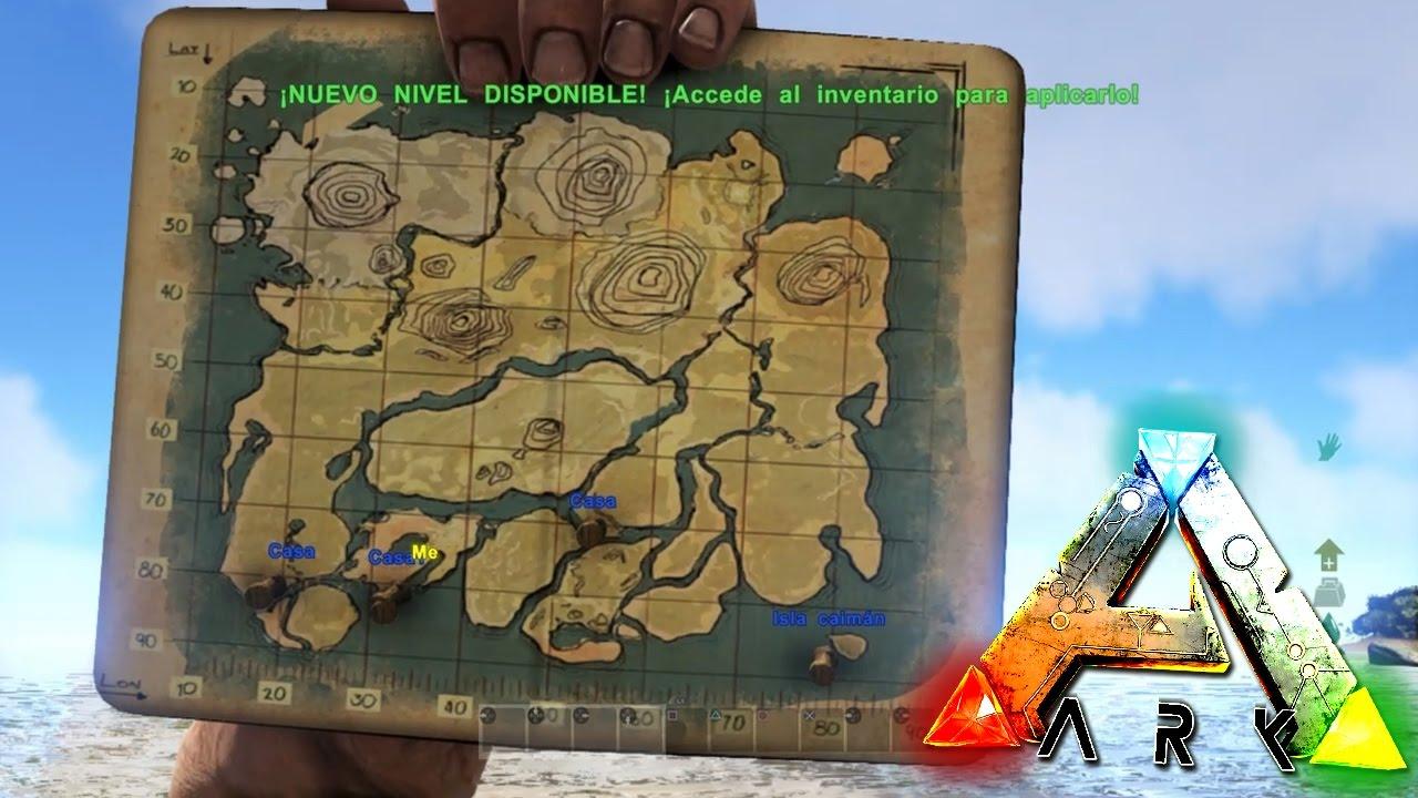 Ark Como Poner Tu Ubicacion En El Mapa Ark Survival Evolved Ps4