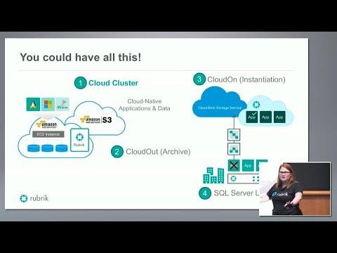 Rubrik Cloud Cluster Demo with Rebecca Fitzhugh