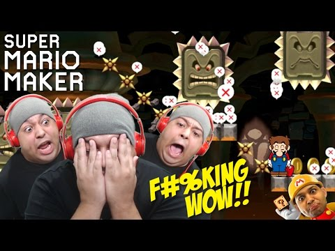 THESE LEVELS ARE F#%KING INSANE!!! [SUPER MARIO MAKER] [#69]